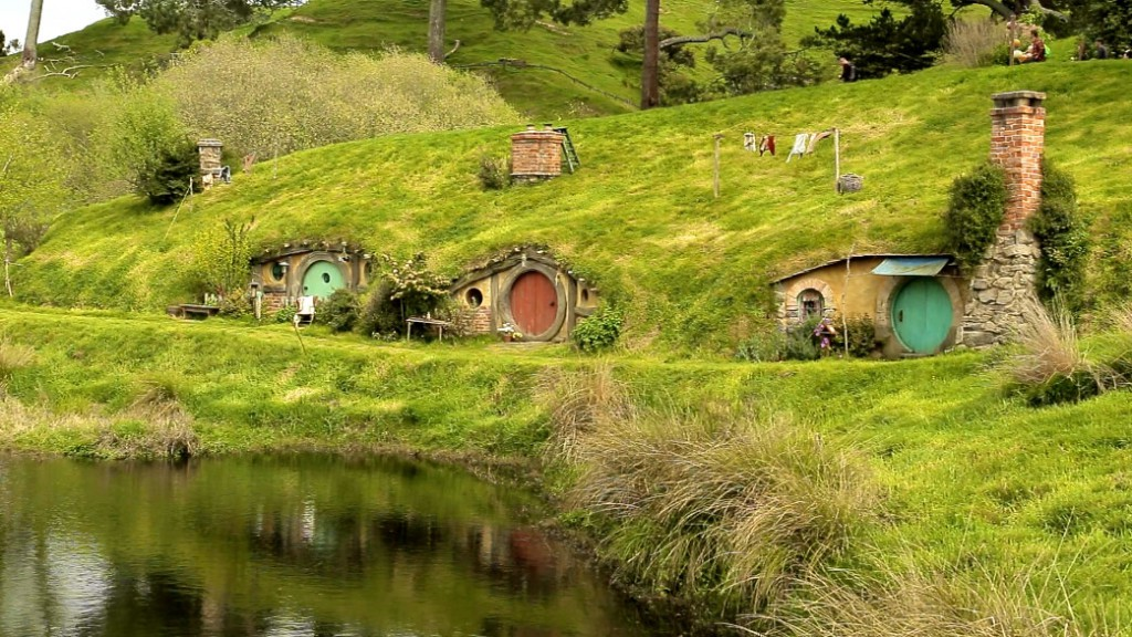 In 2011, when the set was reconstructed for the shooting of »The Hobbit«, it was decided that they would create something permanent this time.