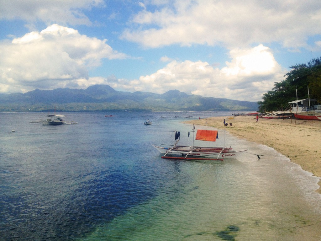 My next destination! The island of Negros, as seen from Cebu.
