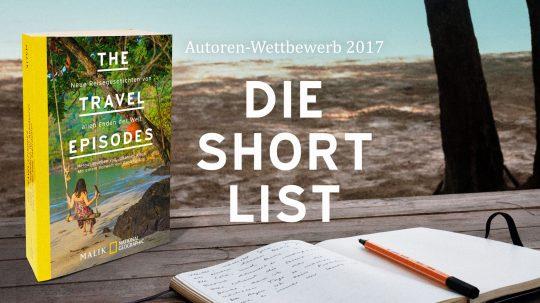 Autoren-Wettbewerb 2017: Die Shortlist